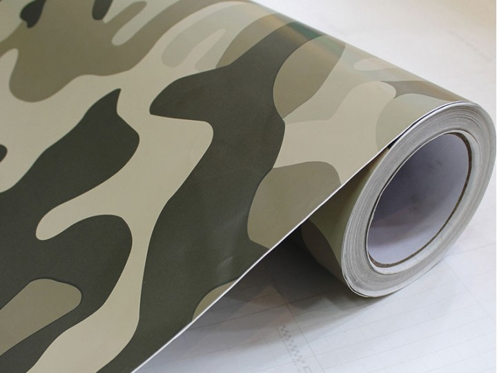 Color Printing Effects Car Camouflage