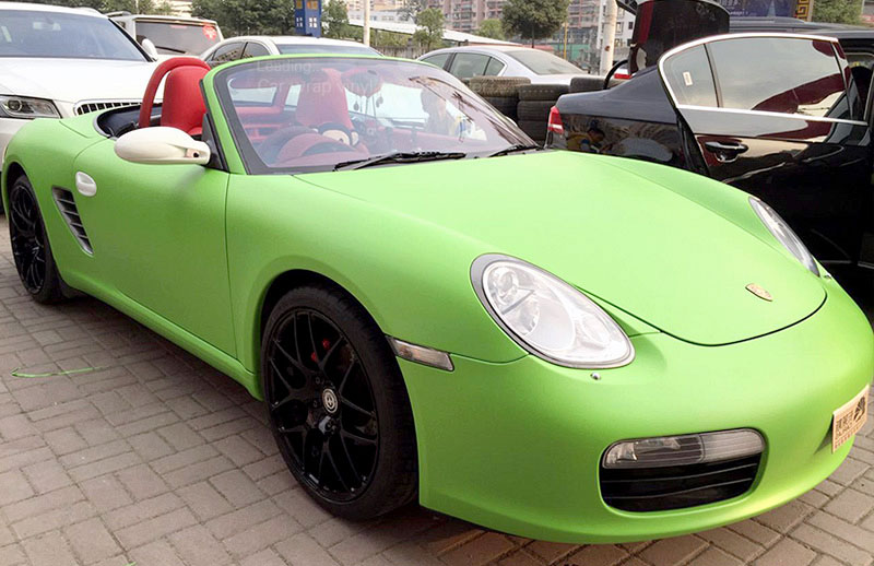 carlas 1004 green foggy matte film GT911
