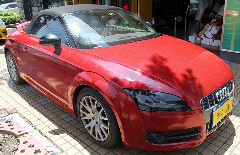 audi TT red diamond pearl film 2001