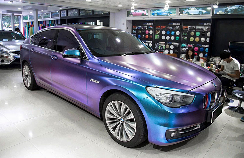 6005 STYLING WRAP PEARL CHAMELEON VINYL FILM BODY STICKER WITH AIR FREE BUBBLE